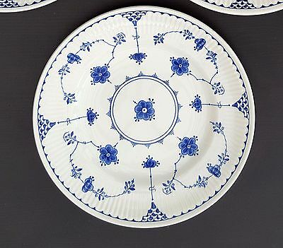 FURNIVALS BLUE  DENMARK   1 x  LARGE SAUCERS 16CM - great condition