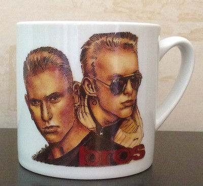 BROS CERAMIC MUG Matt & Luke Goss