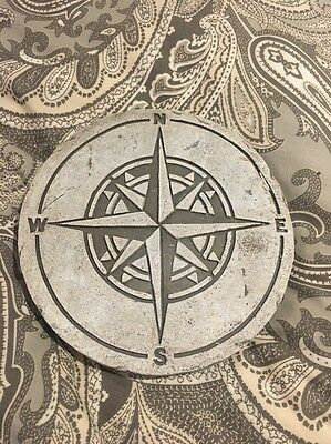 Compass stepping stone garden home decoration 16cm
