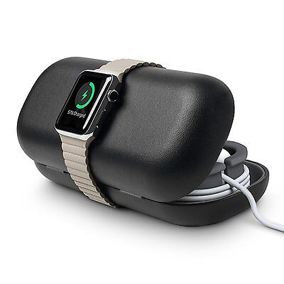Genuine Twelve South Time Porter Apple Watch Case Cover Stand dock storage Black