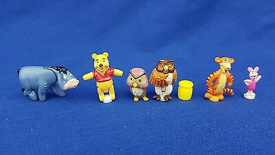 Polly Pocket Figures From   Winnie The Pooh  excellent condition.