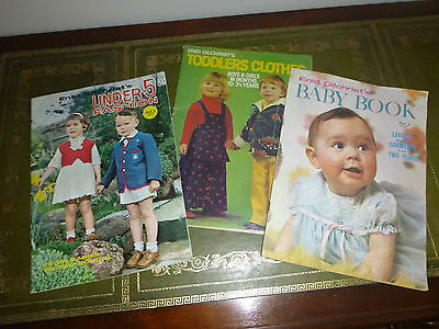 Enid Gilchrist Vintage sewing books x 3 - Baby, Children, Toddlers patterns