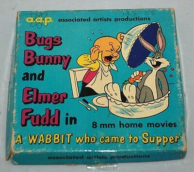 8MM Movie Featuring Bugs Bunny & Elmer Fudd - VINTAGE 1942