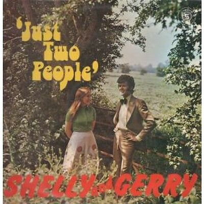 SHELLY AND GERRY Just Two People LP VINYL Irish Top Spin 12 Track (Tslp74)
