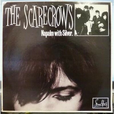 "SCARECROWS Napalm With Silver 12"" VINYL UK Swordfish 1984 4 Track B/w The"