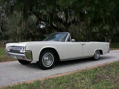 1963 Lincoln Continental  1963 lincoln continental convertible ford fomco very clean