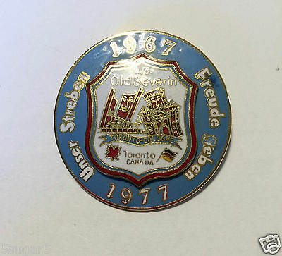 K.G. OLD SEVERIN 1977 German-Canadian Club of Pickering- 10 year TORONTO-COLOGNE