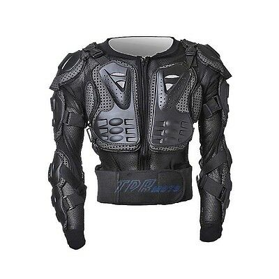 Black Body Armour Armor Jacket Guard Suit Protective Gear for Kids / Adults