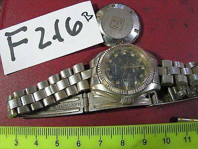 Vintage TISSOT Lady Automatic w Band Swiss Parts Watch AsIs