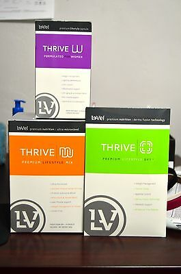 Le-Vel Thrive Women's lifestyle pack inc. capsules, shake mix and DFTs NEW!!
