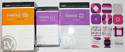 Thrive By Le-Vel Women's Tone Pack capsules, 2 boxes of shake mix, DFT patches