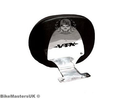 Honda Vtx 1800 Vtx1800 Custom Stainless Steel  Driver Rider Backrest