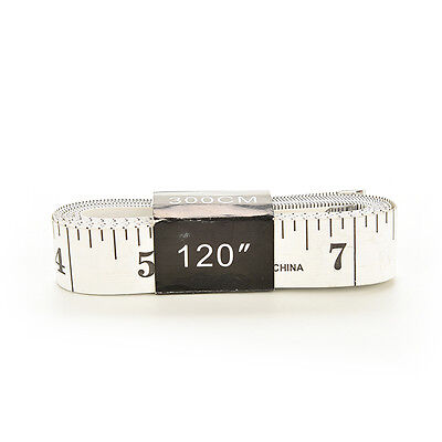 New 120 Inch Soft Tape Measure Sewing Tailor Ruler With Centimeters Scale OZ