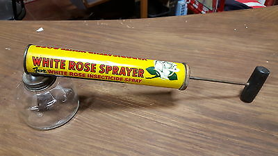 White Rose Insect Sprayer