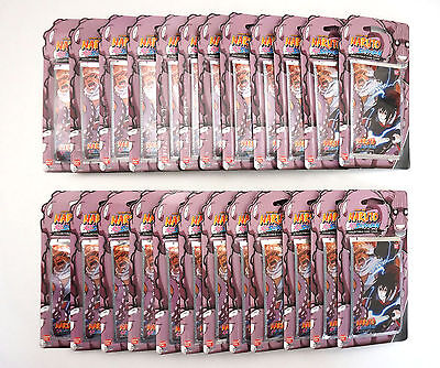 Lot of 24 - Naruto TCG CCG Weapons of War Booster Packs - Blister Packaged