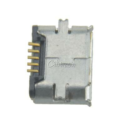10PCS Micro USB 5pin B Type Female Jack Socket Connector for Phone