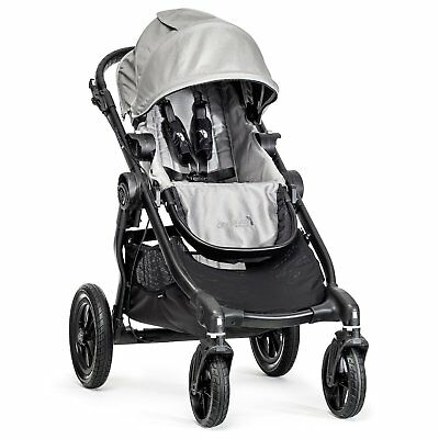 Baby Jogger City Select Single - Black Frame, Silver - 1959504