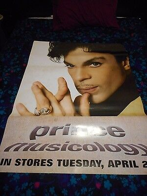 Prince - Musicology - Original Huge Ss Promo Poster - 2004