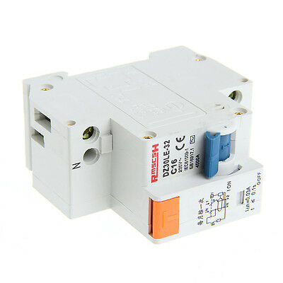 1DPNL DPNL16A 230 V ~ 50 HZ / 60 HZ 1 P + N Protection Leakage Circuit Breaker