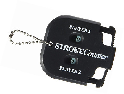 Longridge Golf Accessories 2 Beat Counter (Black)