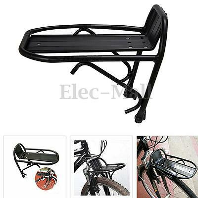 Aluminum Alloy Bike Bicycle Front Rack Luggage Shelf Panniers Carrier Bracket