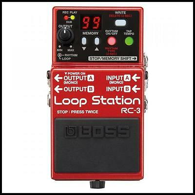 Boss RC-3 Loop Station  Guitar Effects Pedal  Looper Pedal New Boss-RC3