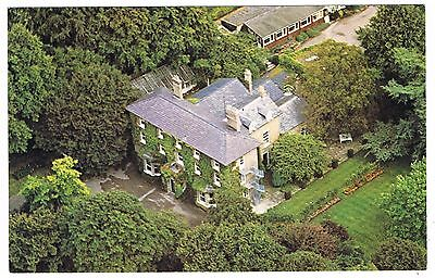 Postcard - Aerial View Burwell House Cambridge