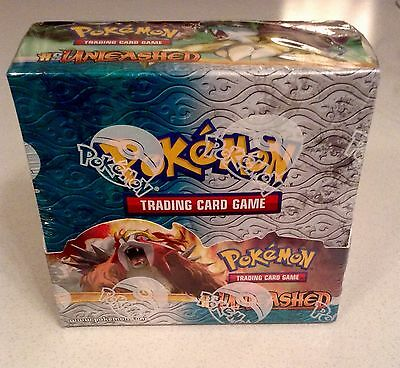 Pokemon HS Unleashed Booster Box (36 Packs) Factory Sealed -Mint Condition- 2010