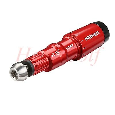.335 Shaft Sleeve Adapter Red ±1.5 For TaylorMade Special Edition Tour M1 Driver