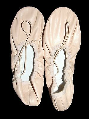 ~BLOCH~ Pink Leather Ballet Dance Shoes - Size 1B - BRAND NEW