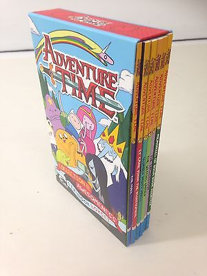 Adventure Time - Collection of Awesomeness Six Book Boxset Brand New