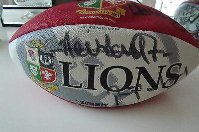 Lions Tour Australia 2001 Signed Mini Rugby Ball