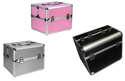 Valigetta Make Up Beauty Case Trolley Nail Valigia Porta Trucco Cofanetto grande
