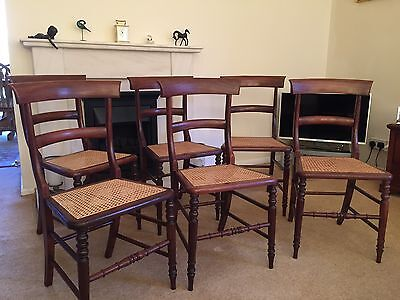 Antique William IV Set Of 6 Dining Chairs