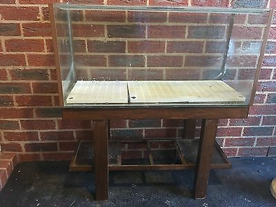 3ft Fish Tank and Nice Wooden Stand