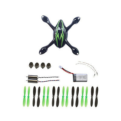 UK Original Hubsan Spare Parts Replacement Sets For H107C RC Drone Black/Green