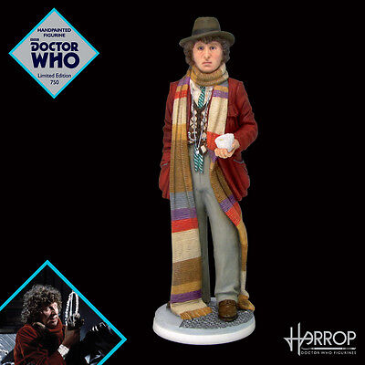 Fourth Doctor Tom Baker - Doctor Who Figurine - Robert Harrop - Limited Edition
