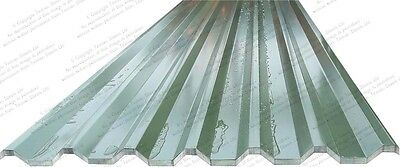 Green Steel Roofing Sheets Box Profile Cladding 0.5mm