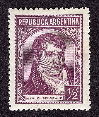 1935 Argentina 0.5c Belgrano SG 644 MOUNTED MINT R29400