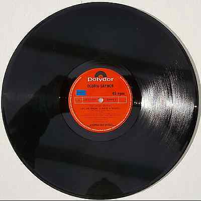 """Gloria Gaynor - Let Me Know (I Have The Right) - 12"""" Vinyl Single"""