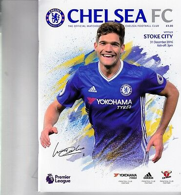 Chelsea v Stoke City (Premier League) 31.12.2016