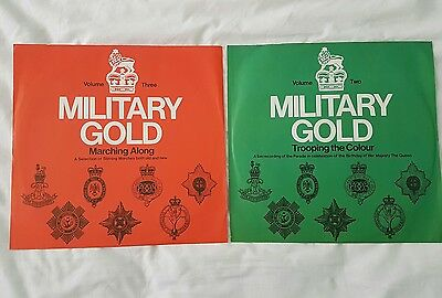 2 × Military Gold LP records