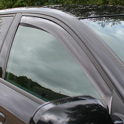Farad 2 Piece Wind Deflectors Set to fit Seat Leon Mk.2 2005 - 2012 Rain Guards