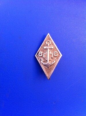 Boys Brigade Sure & Stedfast Diamond Shaped One Year Service Pin Badge