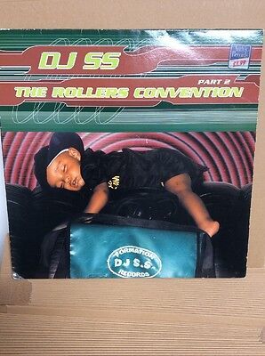 DJ SS – The Rollers Convention EP Part 2  Oldskool - Vinyl - Hardcore Formation