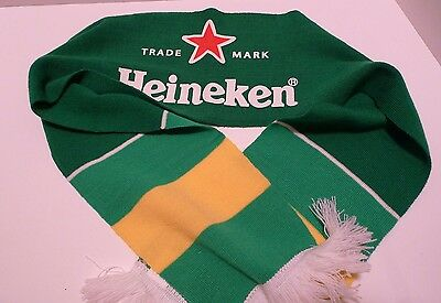 Heineken Beer Scarf - New Without Tags