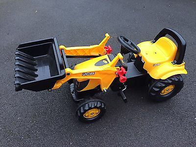 Children's Ride On Tractor Digger