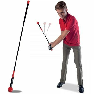 Pure2Improve Tempo Whip Golf Club Stick Trainer 48 Inch Mens Shot Training Aid