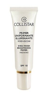 Collistar Primer Uniformante Illuminante Viso Occhi Spf 10 30 Ml