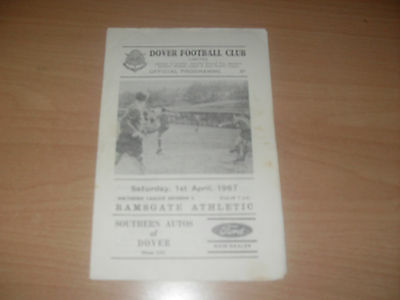 Dover v Ramsgate Athletic 1/4/67